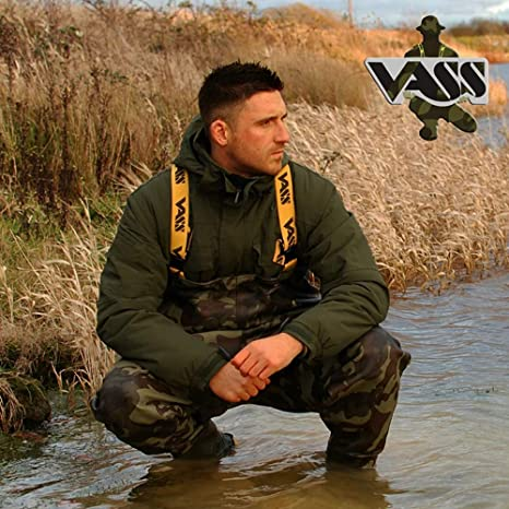 All sizes *Same Day Dispatch* VASS TEX 800-E Camo Edition Camo Chest Waders