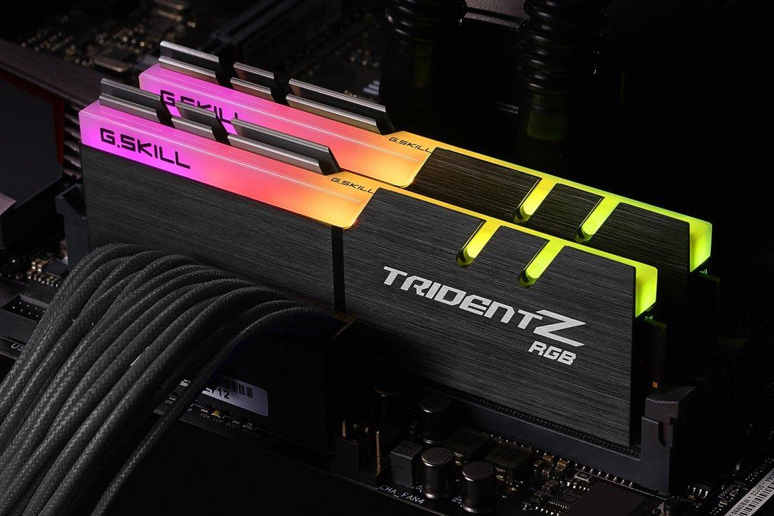 G.SKILL TridentZ RGB Series 16GB (2 x 8GB) 288-Pin 3000MHz F4-3000C15D-16GTZR