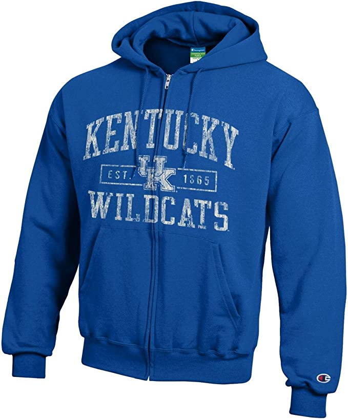 Champion NCAA Officially Licensed Unisex Adult Hoodie Graphics Ultra Soft Comfort Wash