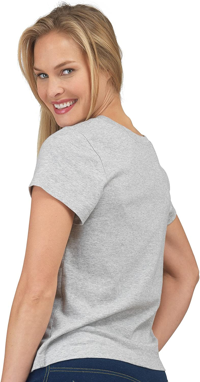 6-Pack Short-Sleeve Cotton T-Shirt PajamaJeans Womens