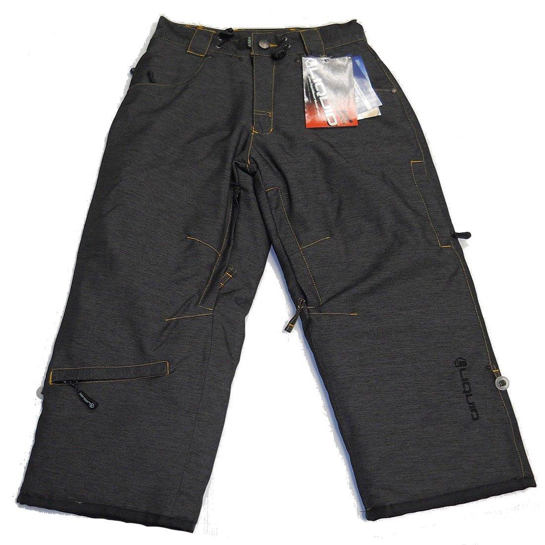 Liquid Boardwear Boys Shermy Pant Size Medium Black by Liquid Boardwear