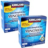 Kirkland Minoxidil 5% Extra Strength Men Hair Regrowth 12 Month (1 Year) Supply