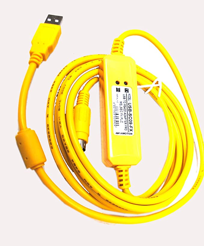 New USB-SC09-FX USBSC09FX for Mitsubishi PLC Programming Cable support Win7