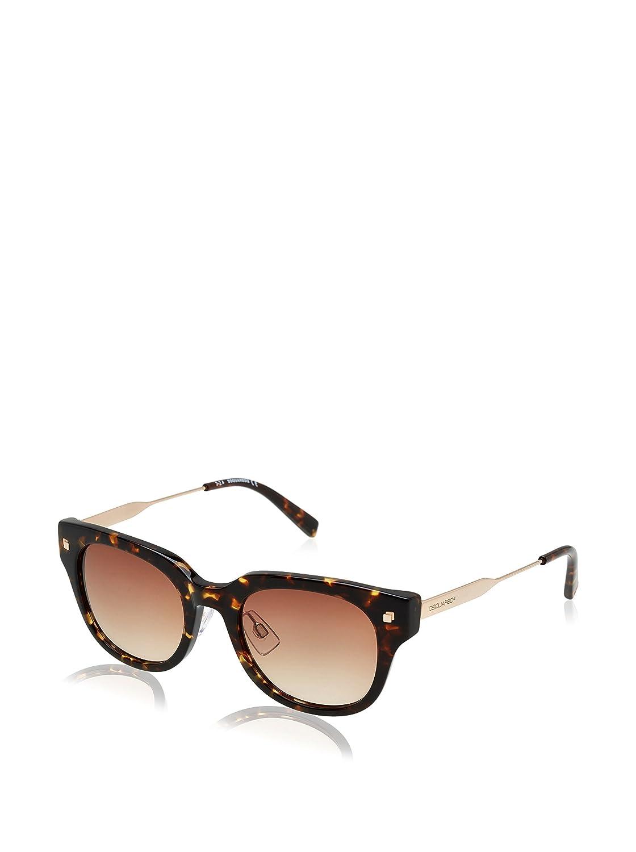 Dsquared Dq0140 Sunglasses Dq 140 Authentic Aviator Glasses Retro 55f Havana New