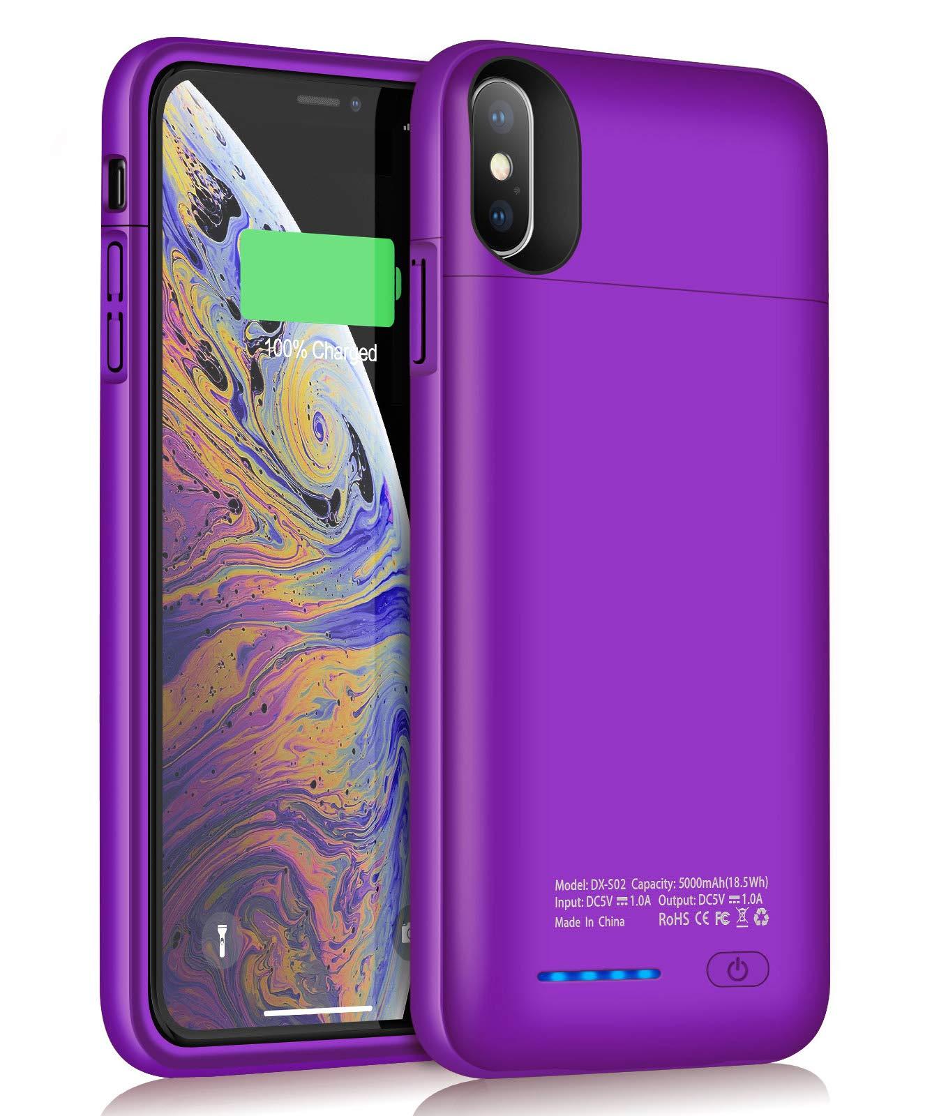 Funda Con Bateria de 5000mah para Apple Iphone Xs Max JUBOTY [7NWFFK3X]