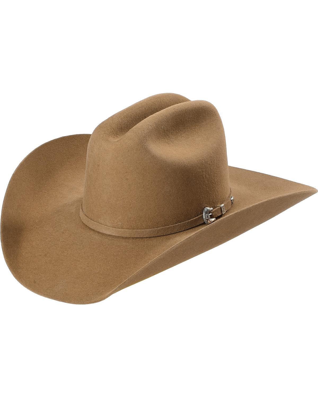 Justin Men's Bent Rail 7X Bullet Fur Felt Cowboy Hat Pecan 7 1/2