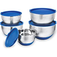 Gabbay 5-Piece Stainless Steel Mixing Bowls Set with Lids