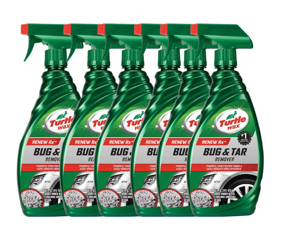 Turtle Wax Bug & Tar Remover (16 oz.) - Case of 6