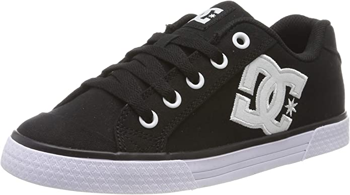 DC Shoes Chelsea TX Sneakers Damen Schwarz/Weiß
