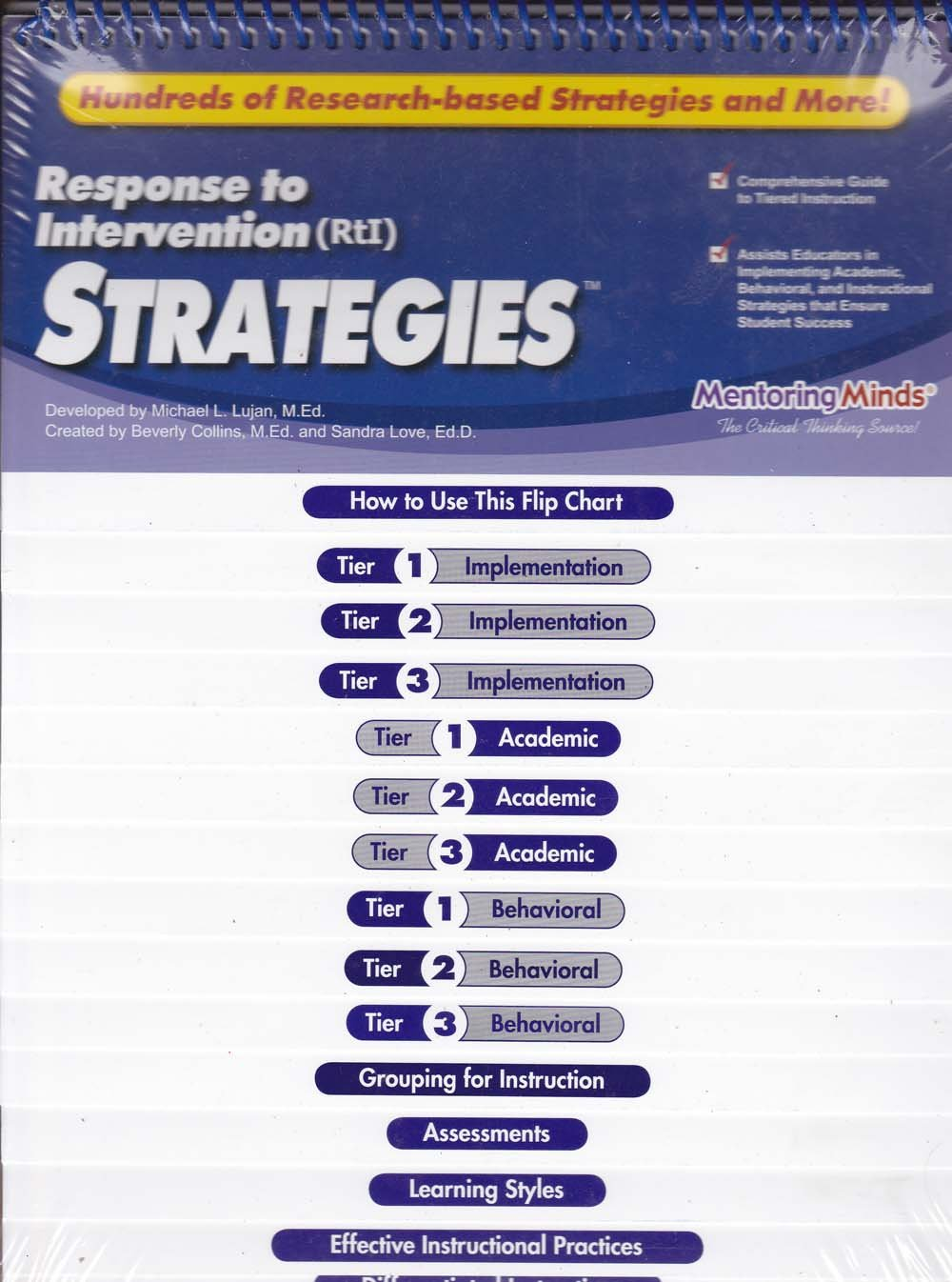 Response To Intervention Rti Strategies Michael L Lujan Beverly Collins Sandra Love Amazon Com Books