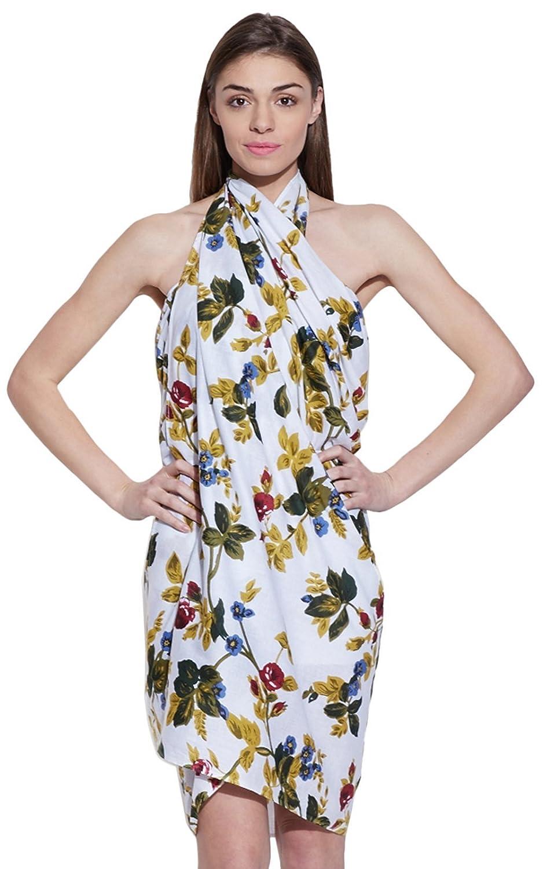 Frauen-Strand Sarong Wickel Cotton Badebekleidungs-Strand-Vertuschung-Schal Sommerkleid