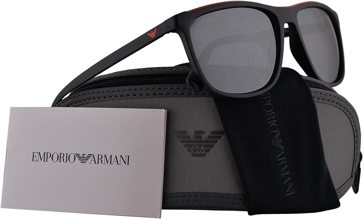 Emporio Armani EA4109 gafas de sol w/lente gris claro Espejo ...