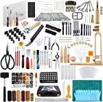 Caydo 509 Pieces Leather Working Tool Set with an Instructions, Punch