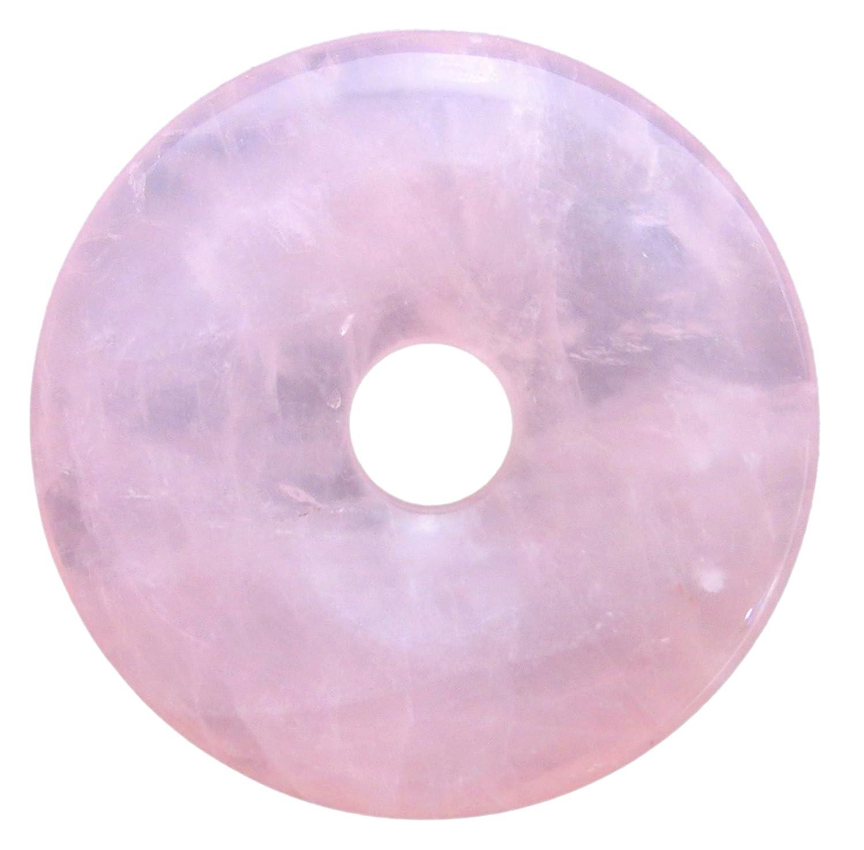 Lebensquelle Plus Pendentif en Quartz Rose avec Pierre pr/écieuse /Ø 40 mm
