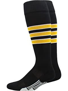 e3e867dfe Amazon.com   MadSportsStuff Softball Socks with Stitches Over The ...