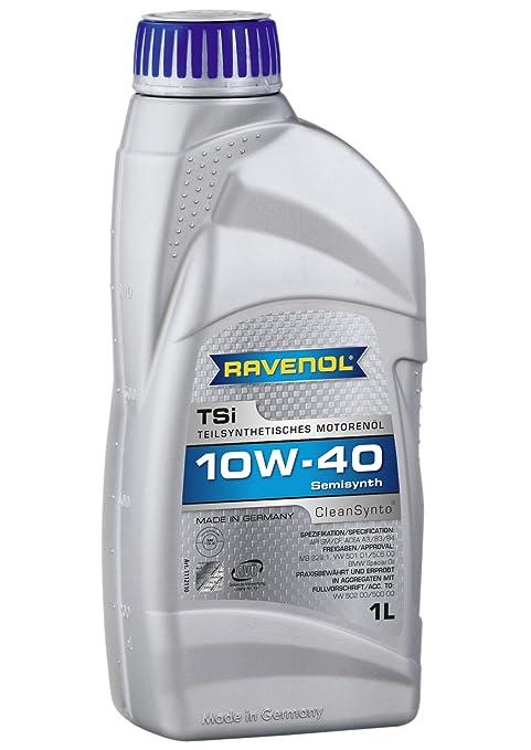 Ravenol j1 a1564 SAE 10 W-40 Aceite de motor – TSI semi-synthetic