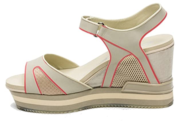 cdf98c37672 DKNY Fashion Sandals INES Sport Mold Mesh Platform Wedge Heels Womens   Sports Sandals  Amazon.co.uk  Shoes   Bags