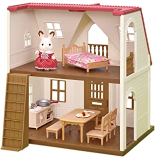 Amazon Com Calico Critters Triple Baby Bunk Beds Toys Games
