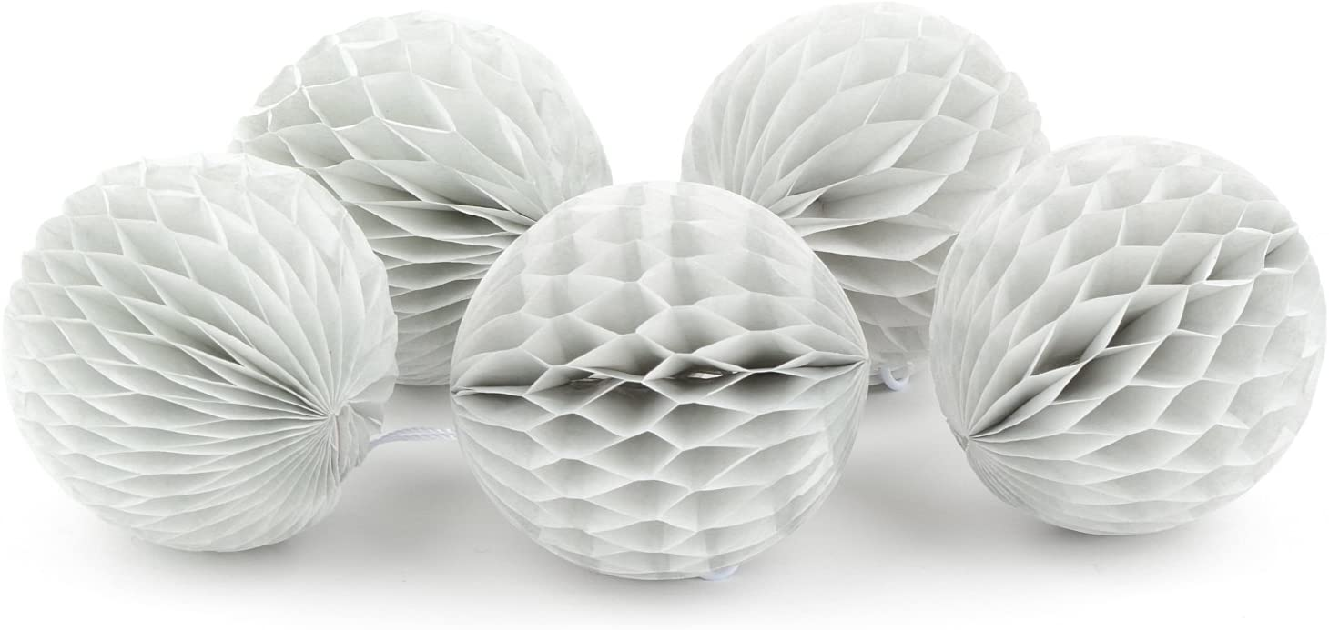 Hochzeit und Weihnachten Bell Dunkelrot, 15 cm Simplydeko Wabenball Glocke Honeycomb Lampion Deko f/ür Party Wabenb/älle