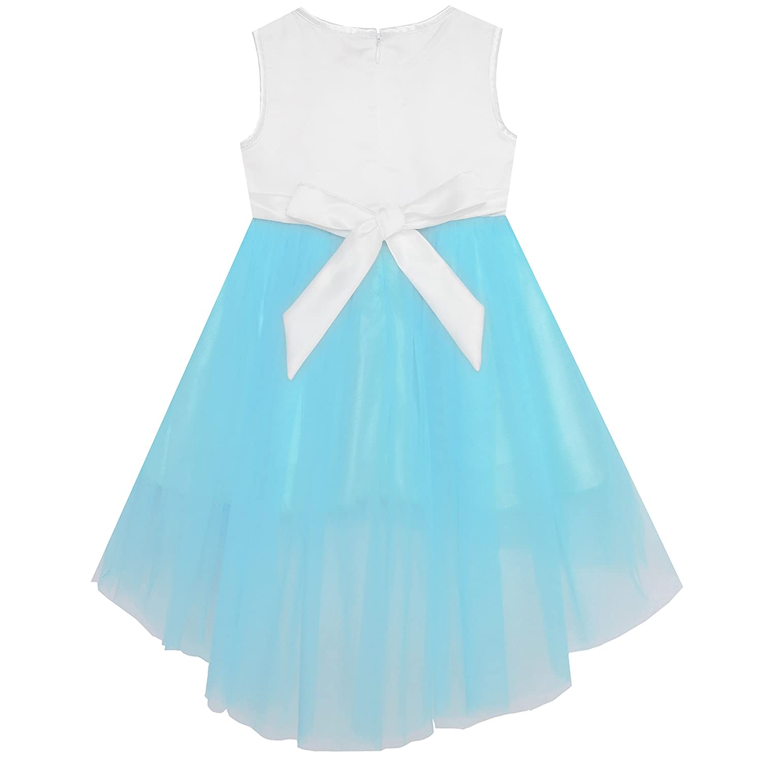 ff4881a83 Amazon.com  Sunny Fashion Baby Girls Dress Sparkling Lace Sequin ...