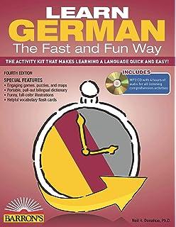 Fast In German >> Amazon Com Learn German The Fast And Fun Way Fast And Fun