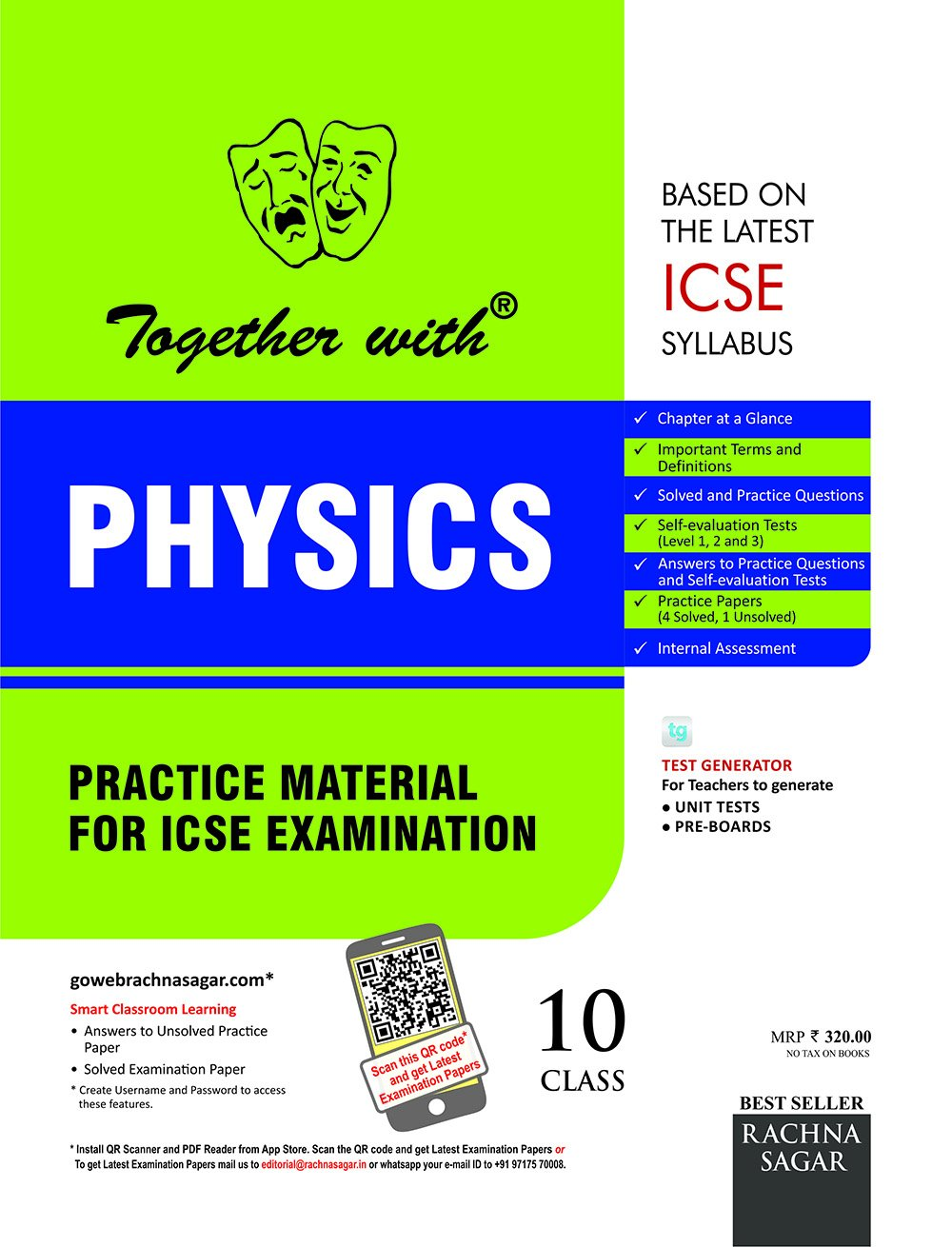 Amazon in: Buy Together with ICSE Practice Material for Class 10