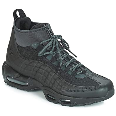 Nike Mens Air Max 95 Sneakerboot Black Black Anthracite White 806809-001  Size 11  Buy Online at Low Prices in India - Amazon.in 53fd105a1
