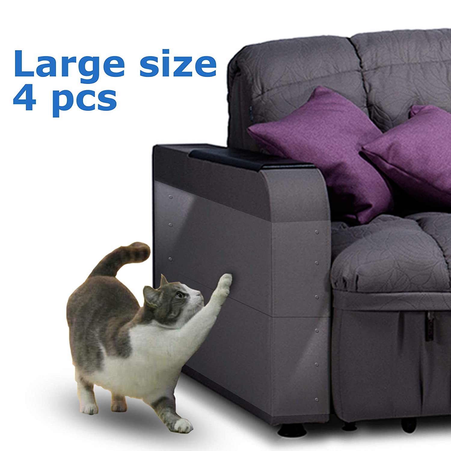 Amazon.com: Bezica Four(4) Furniture Protectors from Cats ...