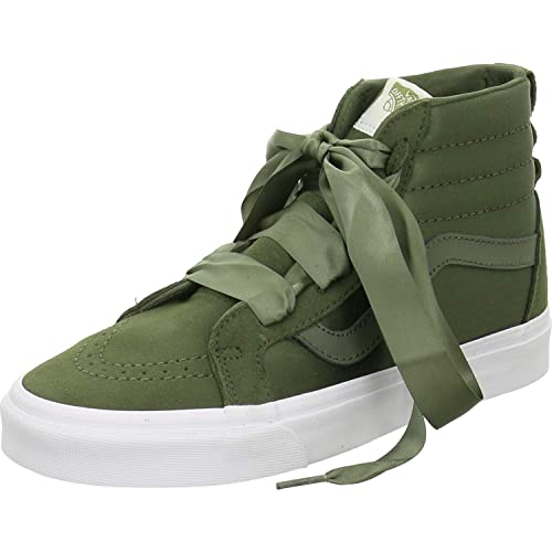 cf396f75a5d Vans Sk8-Hi Trainers Green  Amazon.co.uk  Shoes   Bags