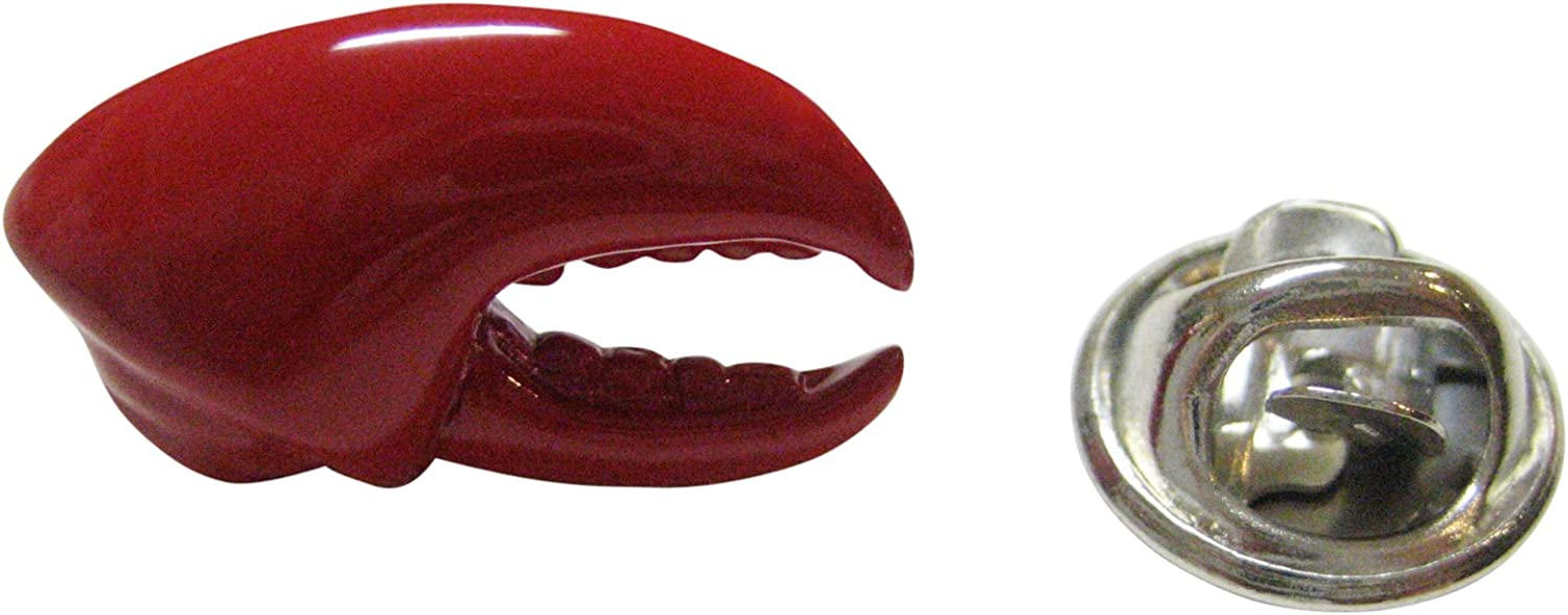 Red Lobster Claw Design Animal Broche Col Lapel Pin Party Costume Jewelry