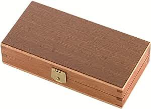 Herbertz Holzbox für Taschenmesser mit Schaumstoffeinlage Cuchillo, Unisex Adulto, Gris, Medium: Amazon.es: Deportes y aire libre