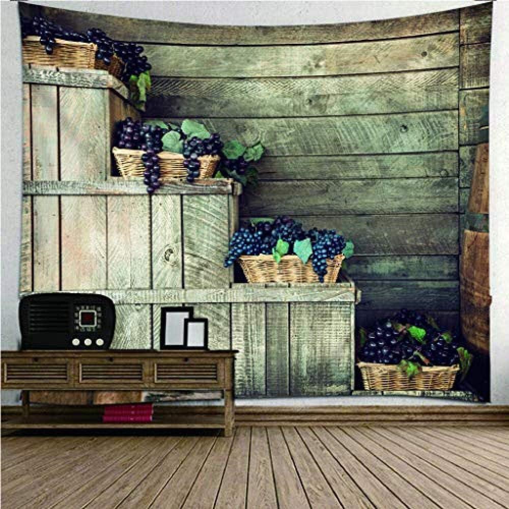 HYZDR Tapiz de impresión 3D de Escalera de Madera Vintage decoración de Arte Mural Lino sábanas de algodón, una Toalla de Playa Esterilla de Yoga Tapesty 150(H) X200(W) cm: Amazon.es: Hogar