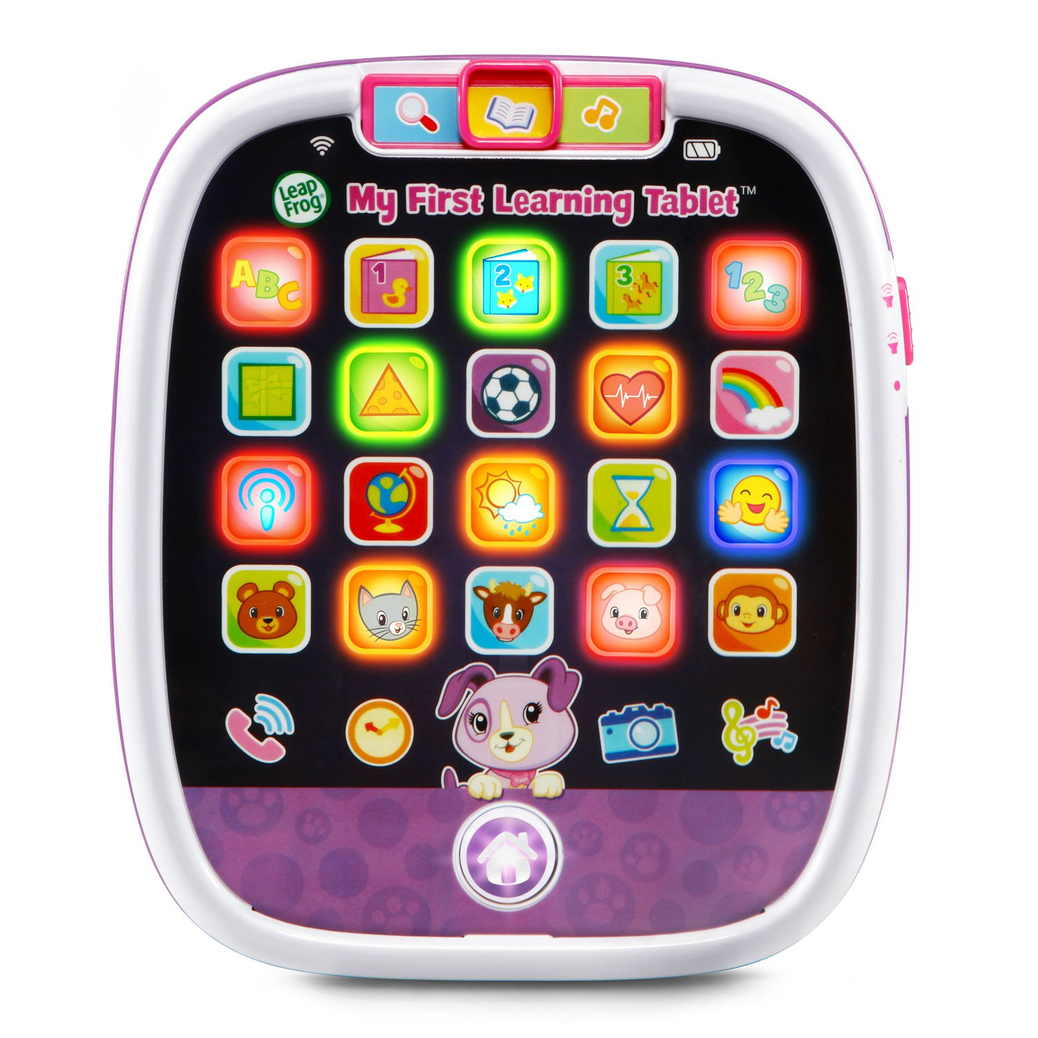LeapFrog My First Learning Tablet , Violet (Amazon Exclusive) by LeapFrog