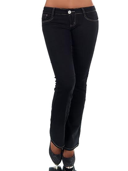 Diva-Jeans - Vaqueros - Campana - Liso - para Mujer