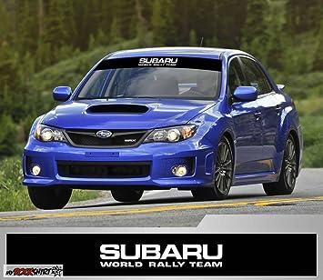 Subaru World Rally Teamrennfahneblendstreifen 130cmkeil