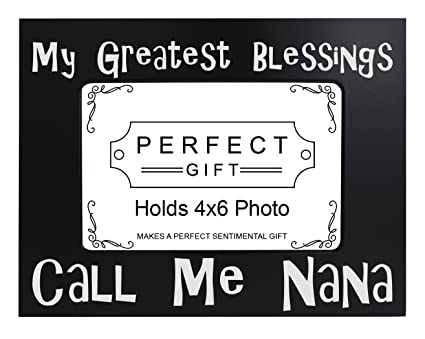 Amazon.com - ThisWear Grandma Picture Frame My Greatest Blessings ...