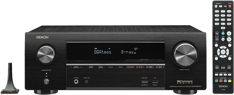 AVR-X1600H 7.2-Ch x 80 Watts A/V Receiver w/HEOS (Renewed)