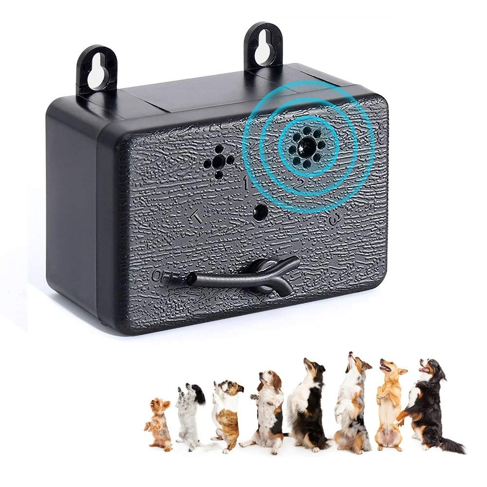 YC° CY Ultrasonic Mini Anti Barking Device, Automatic Bark Control, Harmless Dog Repellent by YC°