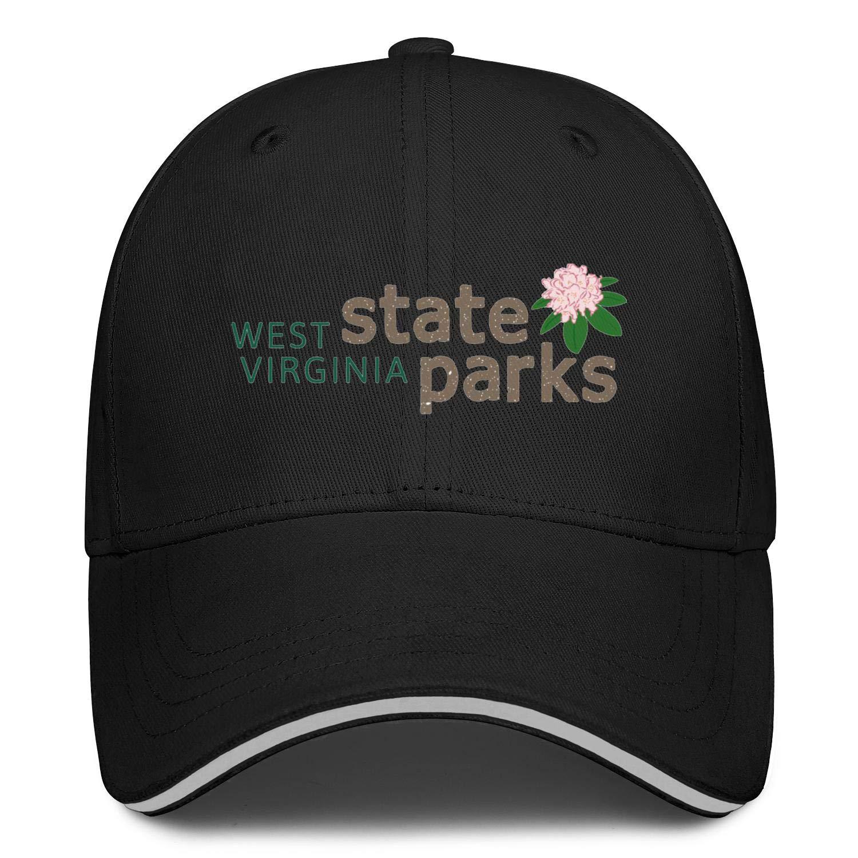 TylerLiu Baseball Cap West Virginia State Parks Snapbacks Truker Hats Unisex Adjustable Fashion Cap