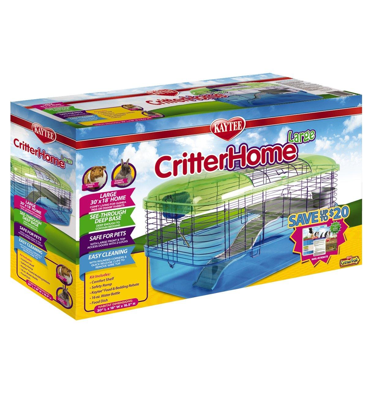 Kaytee CritterHome 30'' x 18'' Large Habitat for Pets