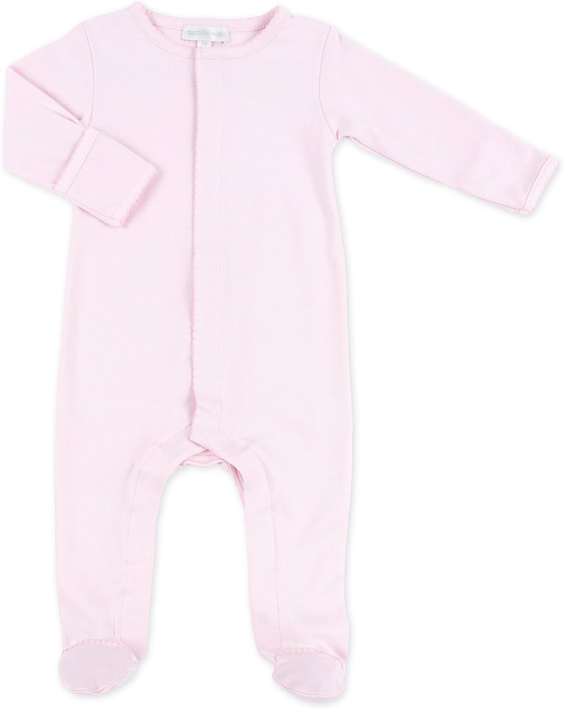 Magnolia Baby Baby Girl MB Essentials Footie Solid Pink