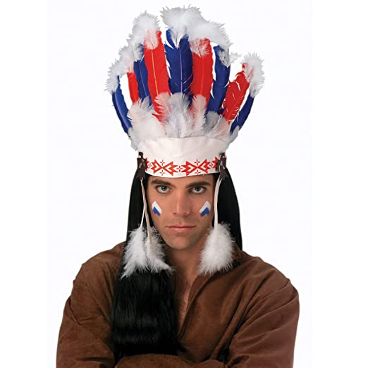 amazon com rubie s costume co chief headdress costume toys games