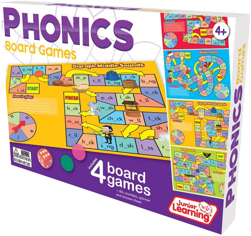 Phonics board game  for dyslexia