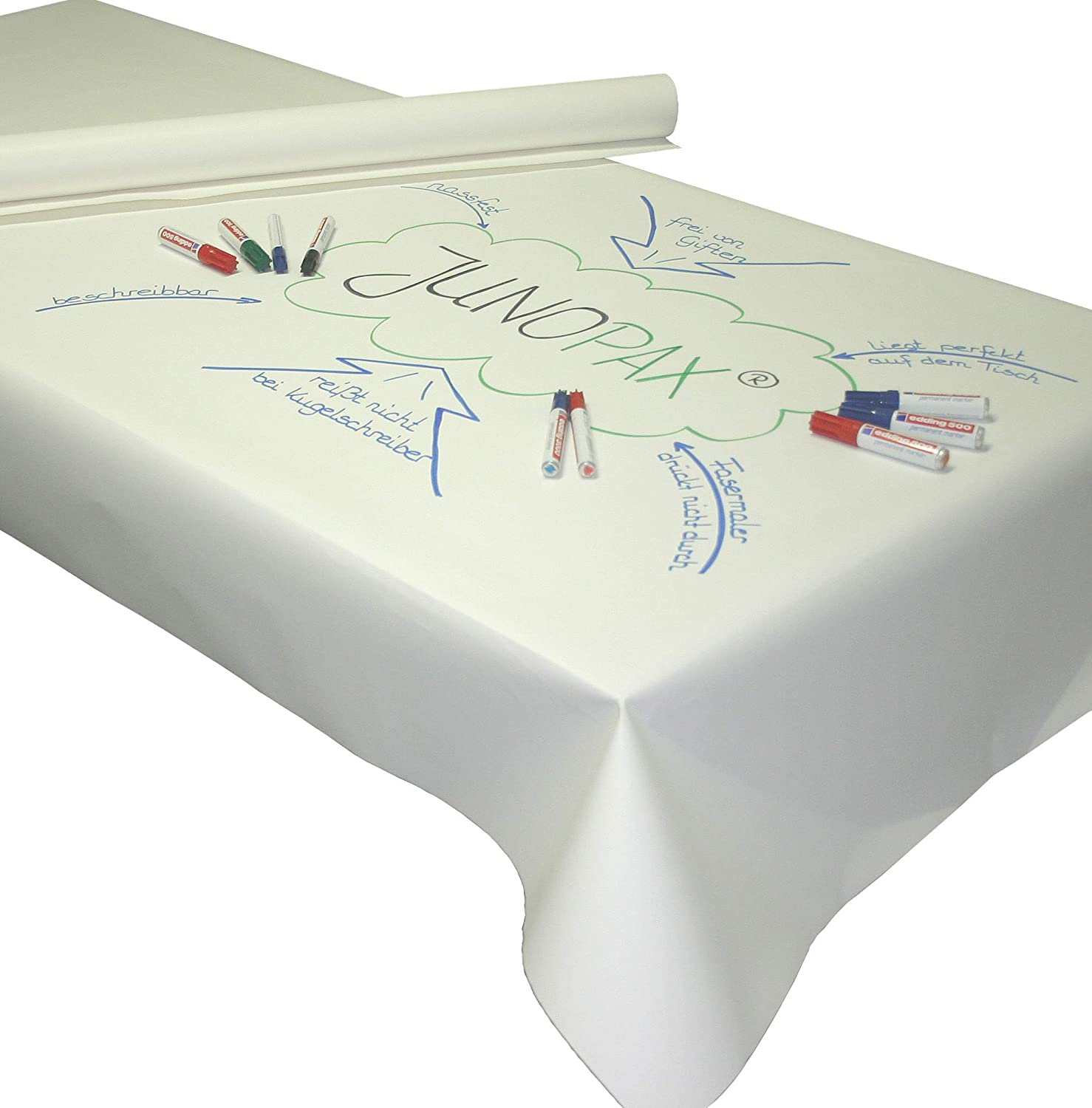 50/x 1.15/m Write On Paper Tablecover Juno Pax/® World Caf/é Method