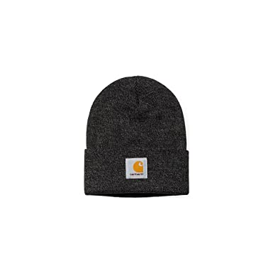 b9e96b3c54e Carhartt Scott Watch HAT Dark Grey Heather Black berretto Streetwear ...