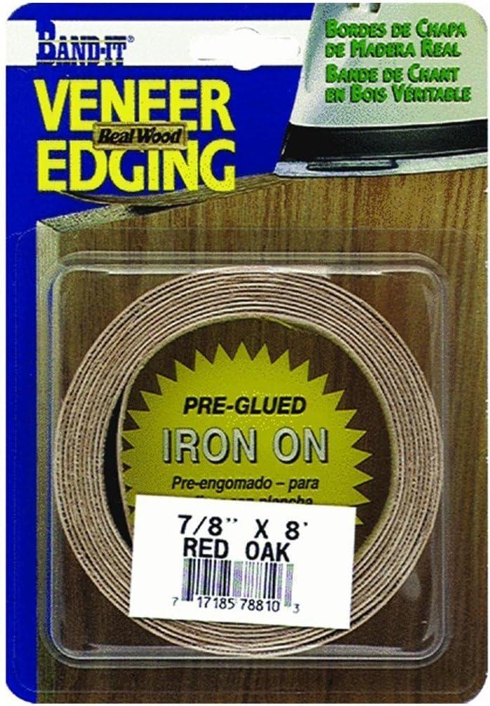 """Band-It Veneer Edging 2/"""" x 8/' White Birch"""