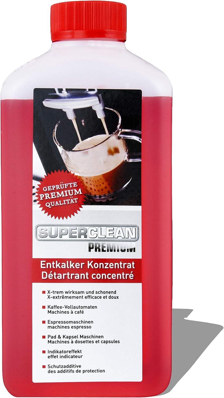 Especial líquido descalcificador concentrado universal Obtiene Solucionador de cal para todo tipo de máquinas de café, máquinas de café automáticas y espresso o cafeteras de cápsulas: Amazon.es: Hogar