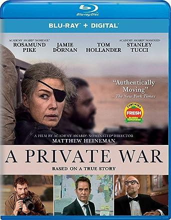 Amazoncom A Private War Blu Ray Rosamund Pike Jamie Dornan