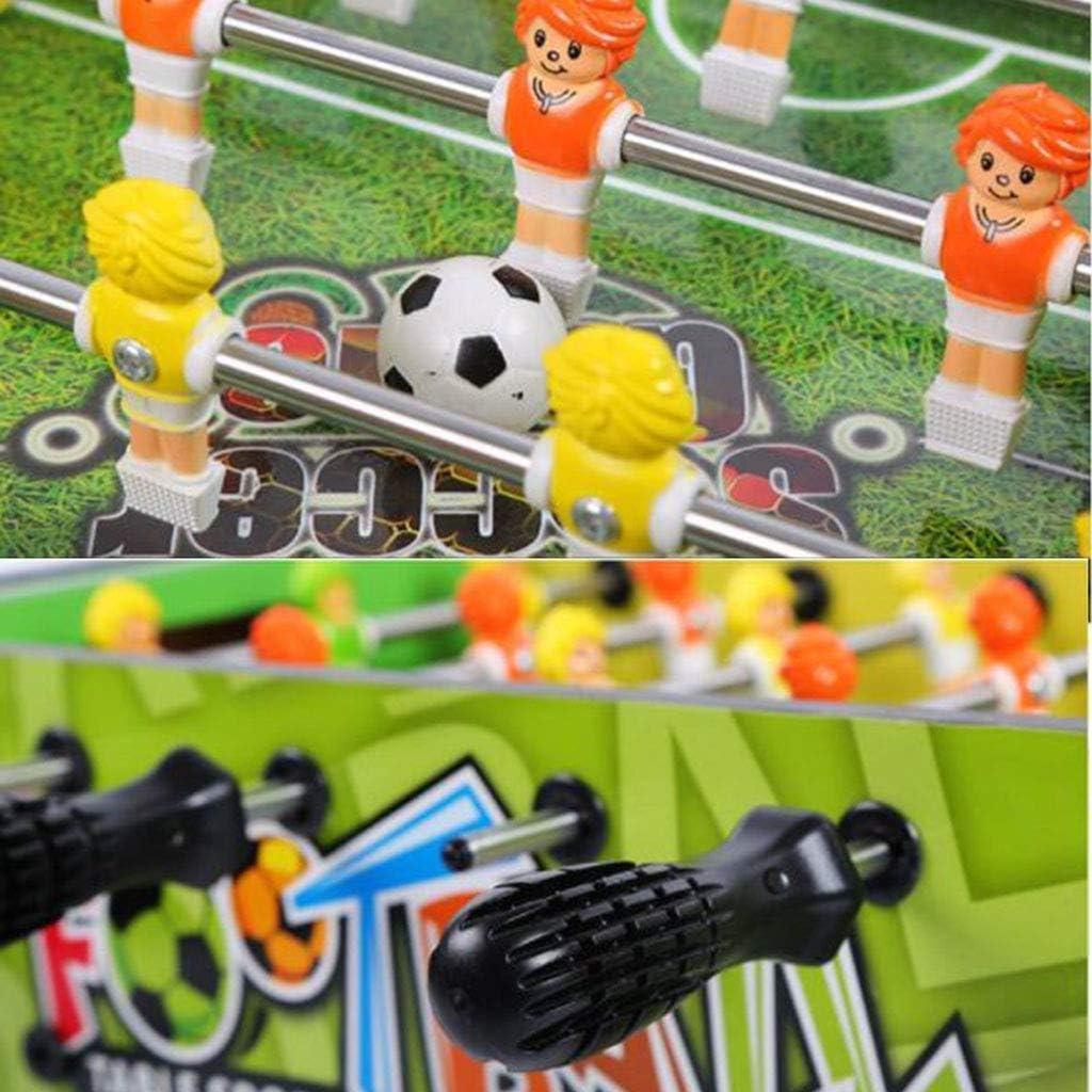 JKLL Juego de Mesa de futbolín y Mesa portátil de futbolín con Dos ...
