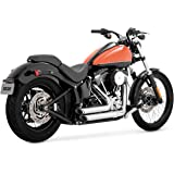 Vance & Hines Shortshots Staggered Exhaust Chrome 17225